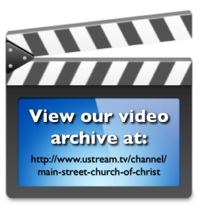 http://www.mainstcoc.org/sermon-archive.html